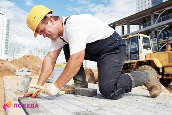 работа на стройках в Чехии