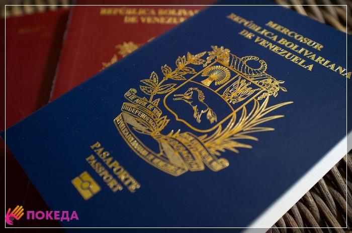 паспорт венесуэлы