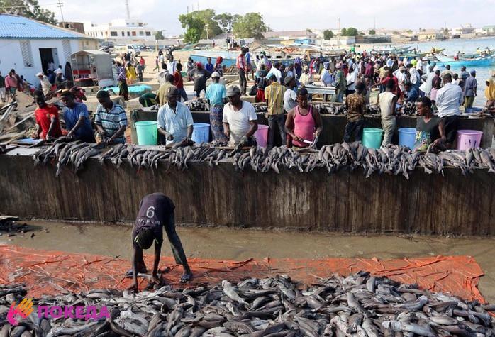 Сомали рыболовство