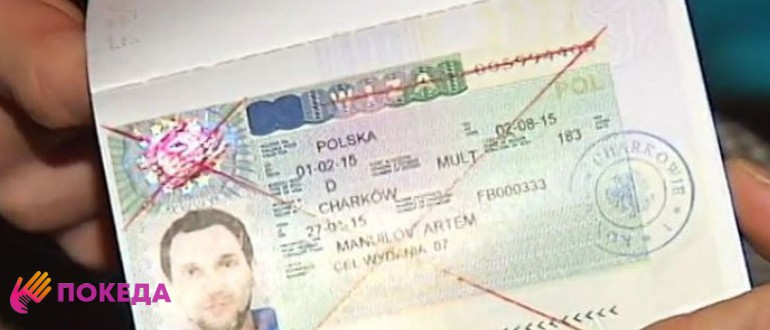 аннуляция визы