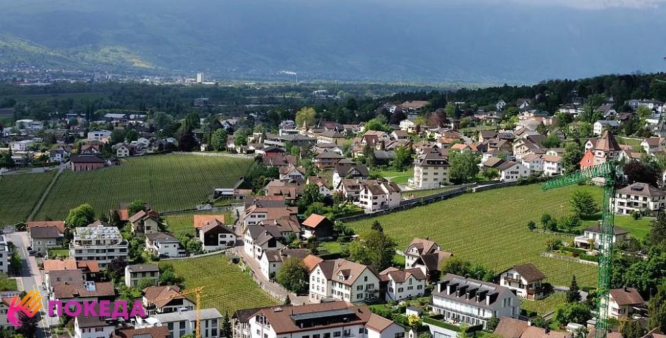 Пейзажи Лихтенштейна