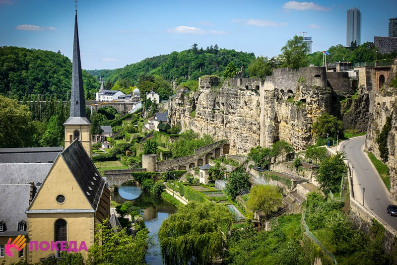 Люксембург замечательно подходит для посещения с детьми