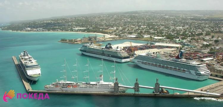 Вид на Барбадос