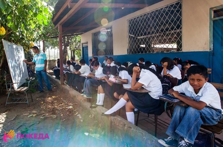 Школа в Никарагуа