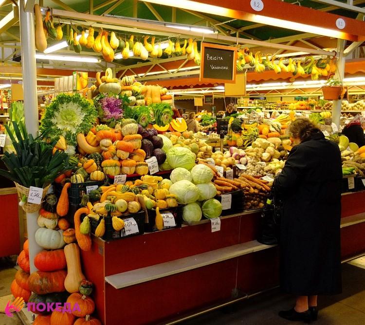 Рынок в Латвии