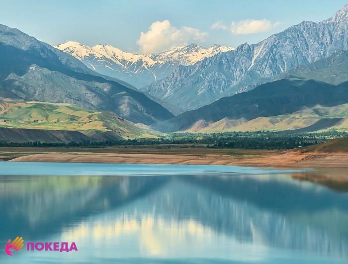 Озеро в Киргизии