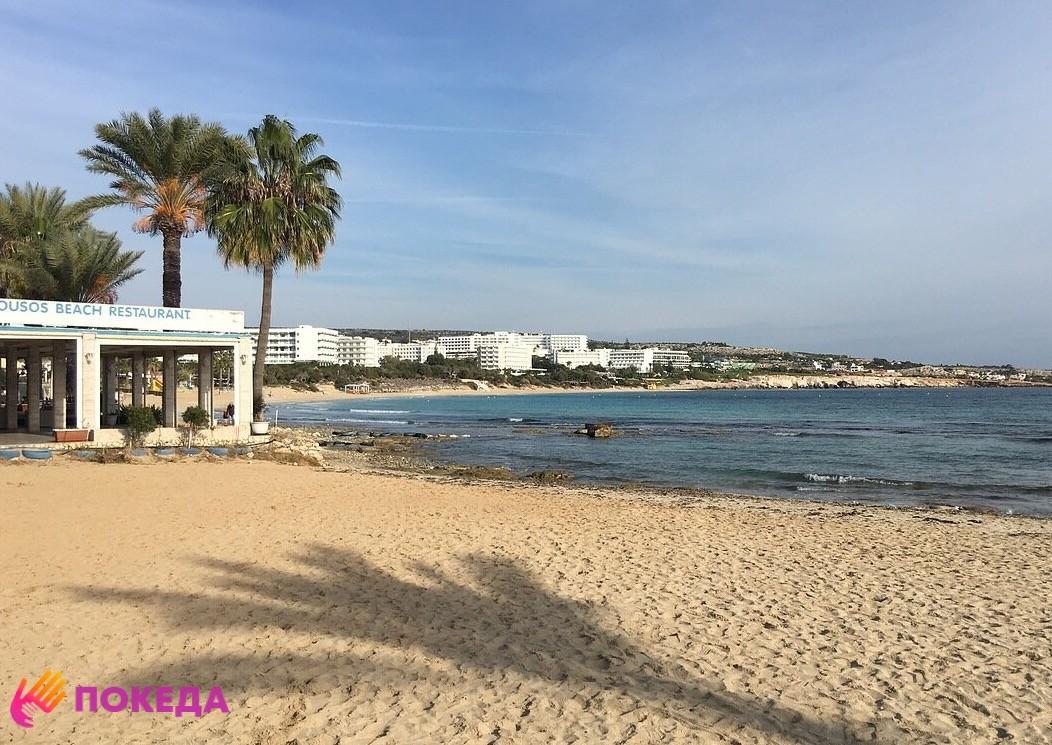 работа на пляжах Кипра
