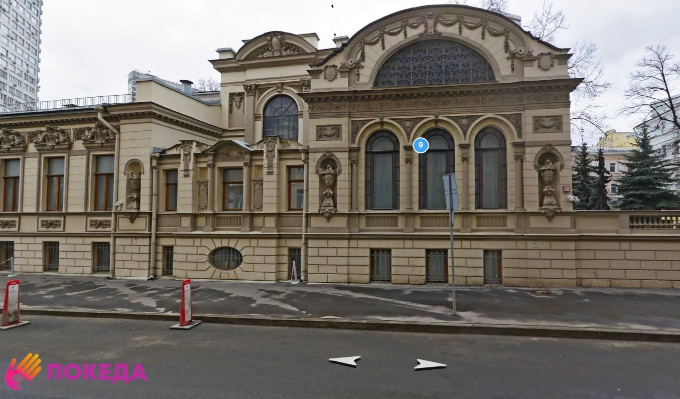 Посольство Кипра в Москве на панораме