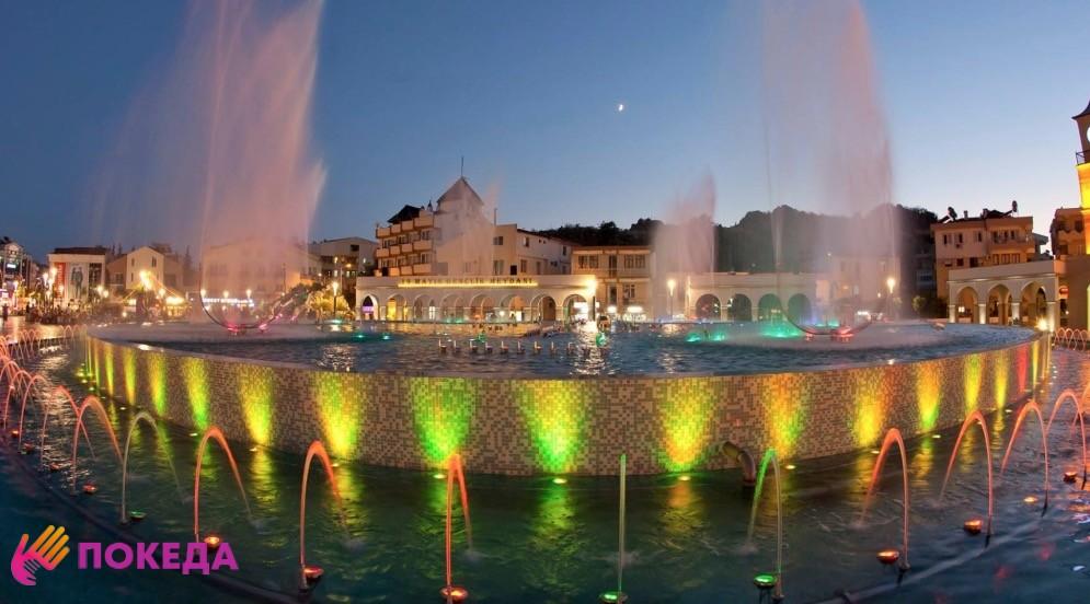 Шоу Dancing Fountains Мармарис