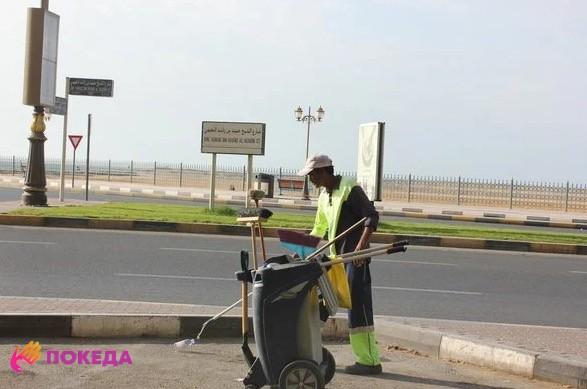дворник Дубаи