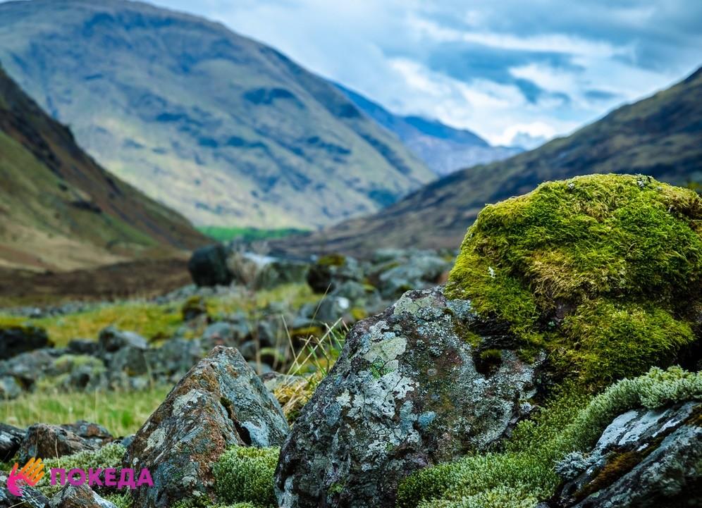 горы шотландия