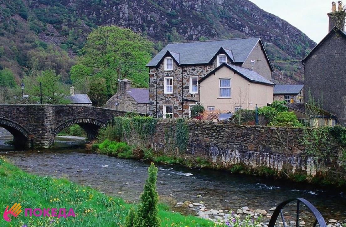 уэльс деревня