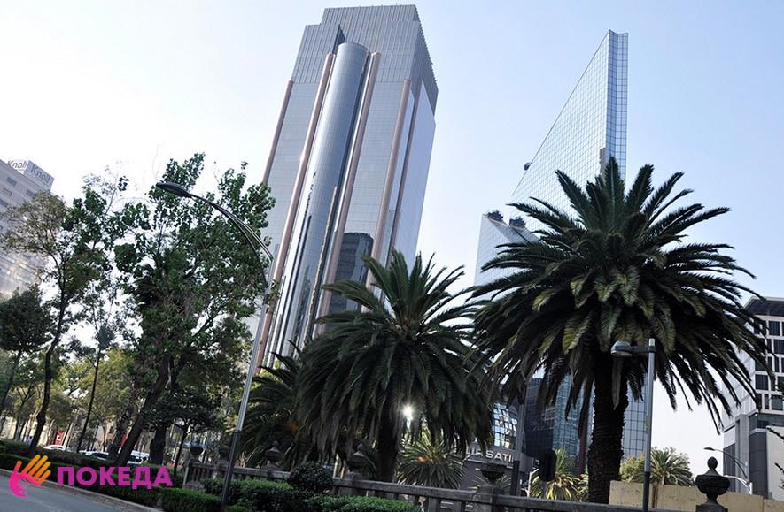 небоскребы мехико