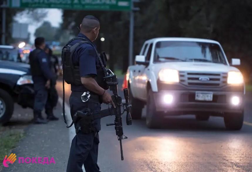 полиция мексика