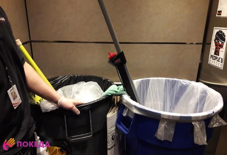 работа в уборке США