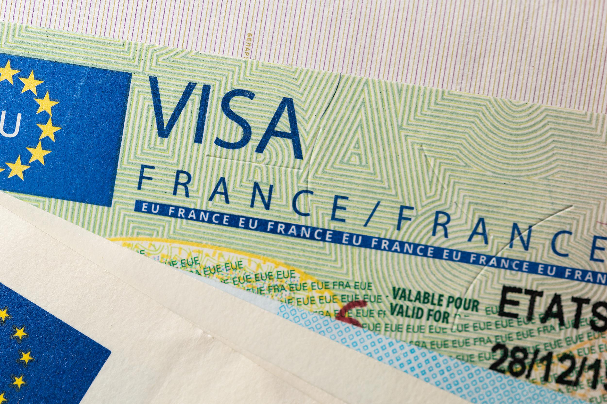 Виза во Францию, для оформления которой надо предоставить фото
