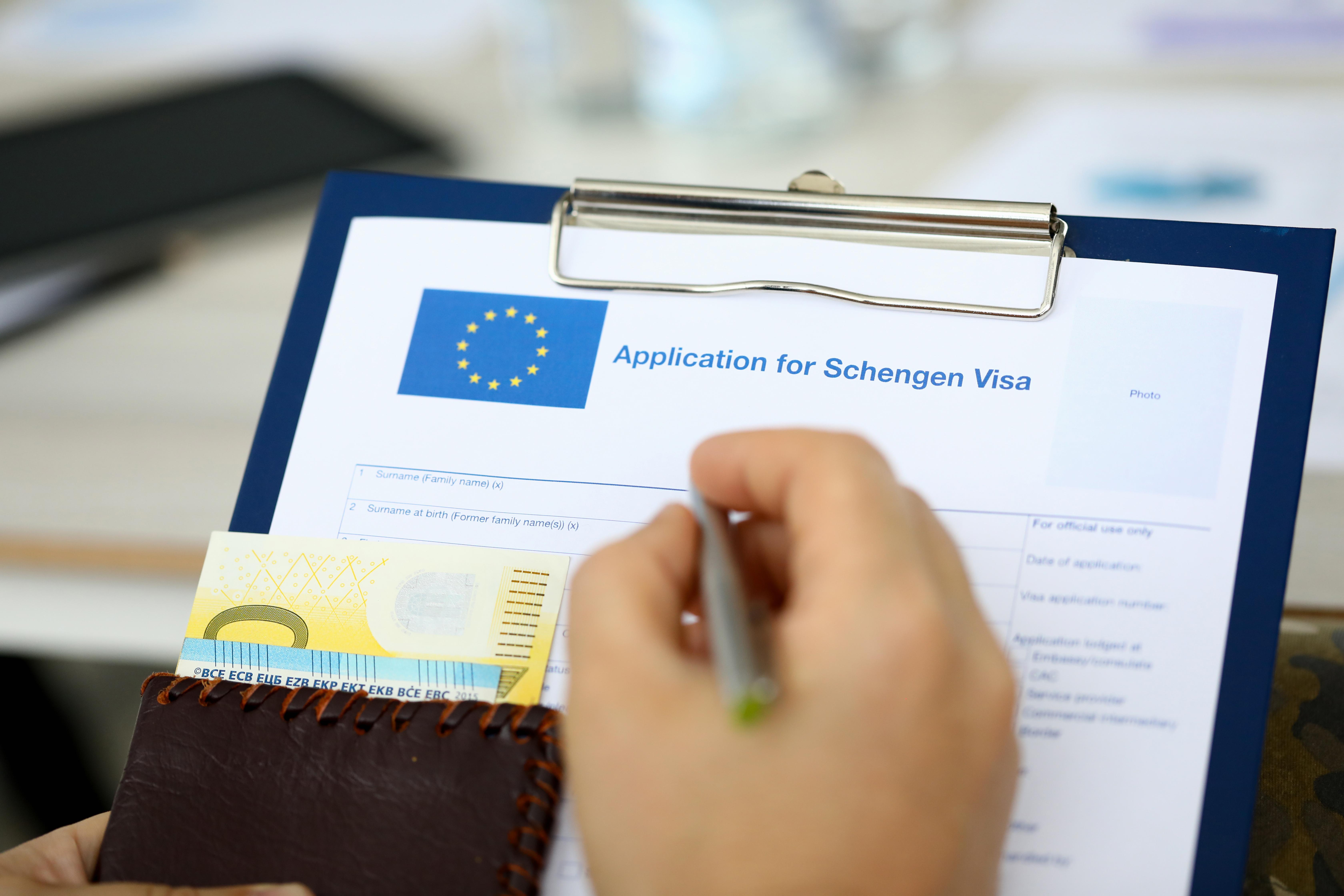 Шенгенская виза, для оформления которой надо сделать фото