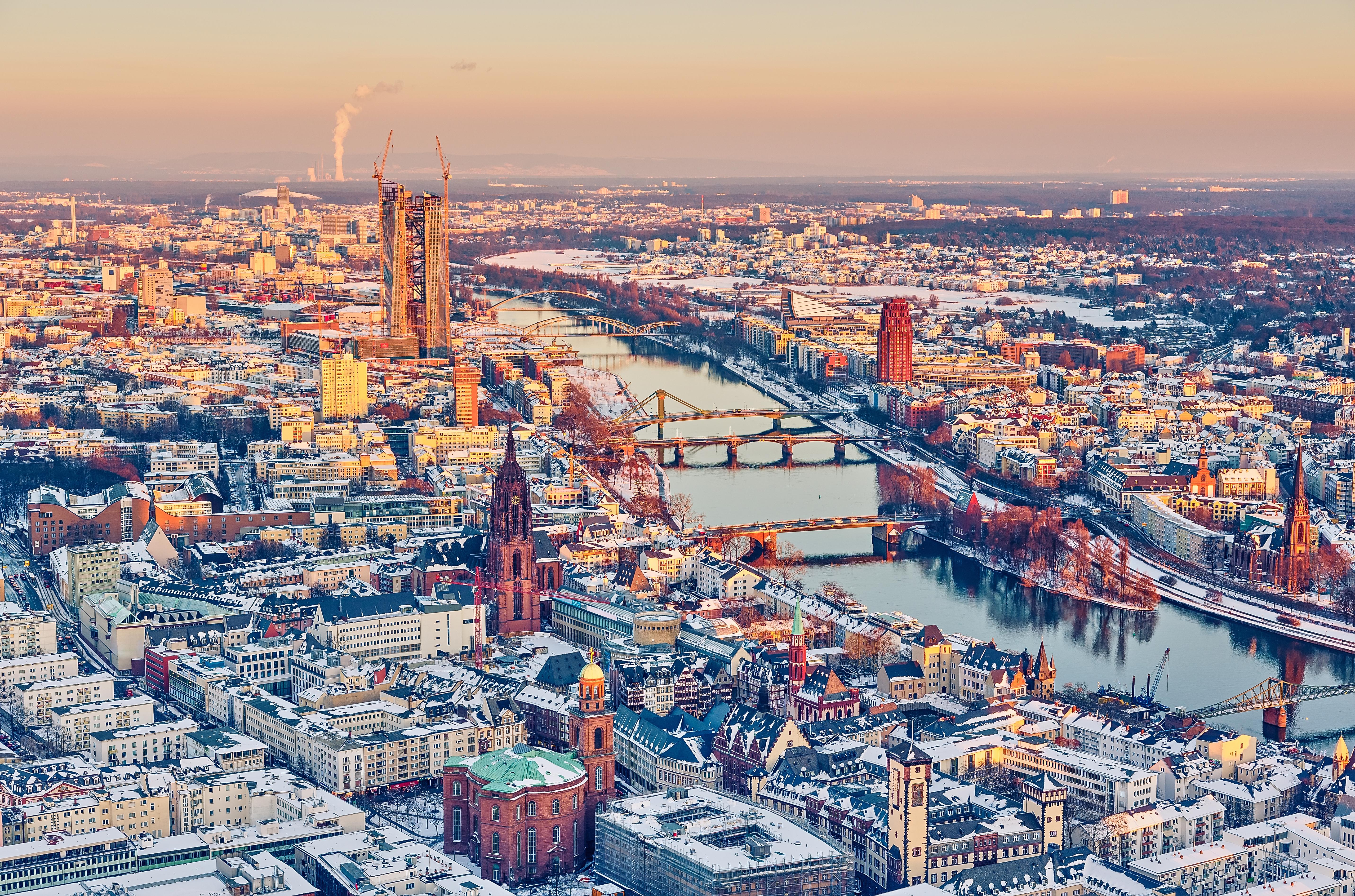Франкфурт-на-Майне - один из лучших городов для жизни и работы в Германии