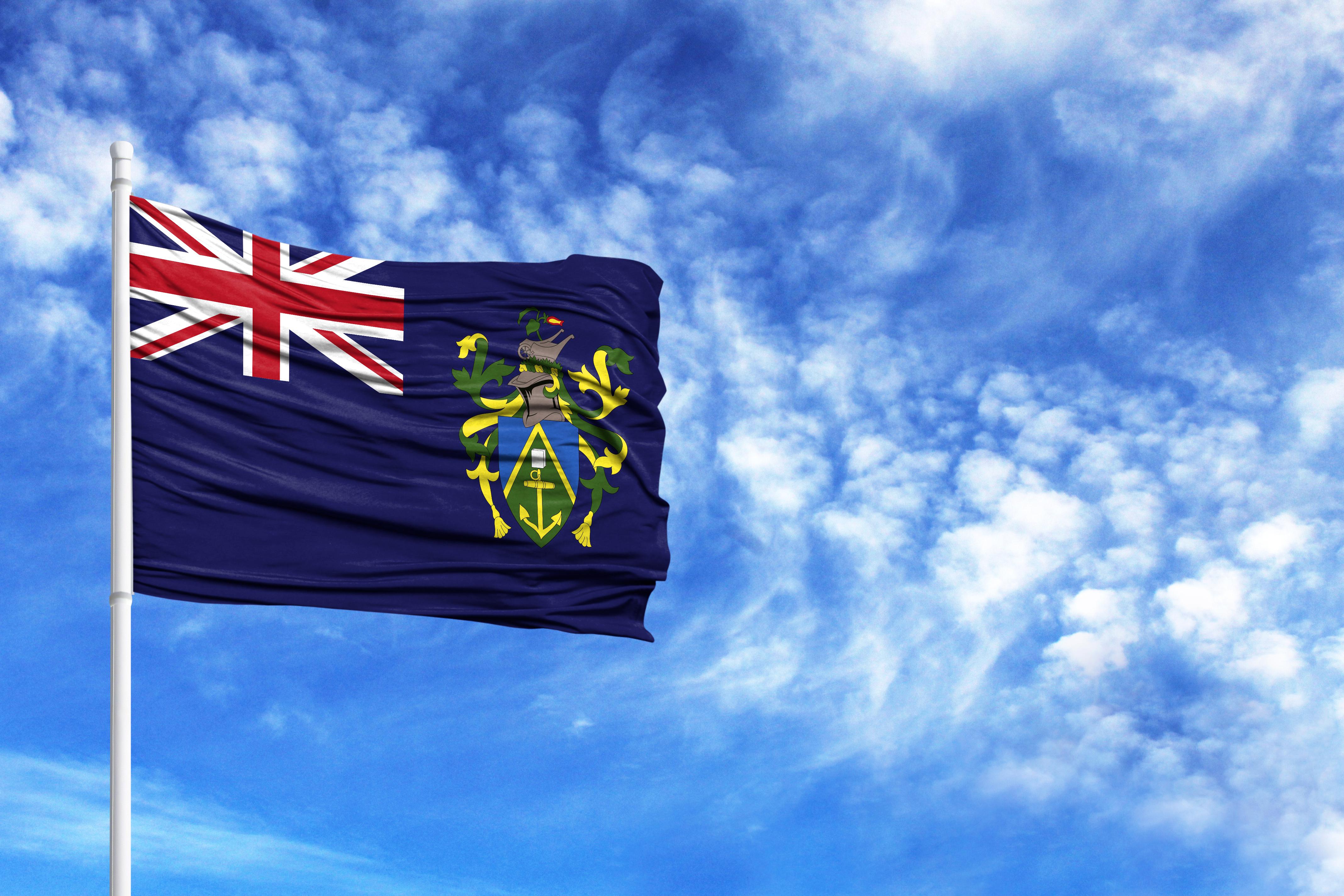 Флаг острова Питкэрн, гражданство которого могут получить граждане РФ