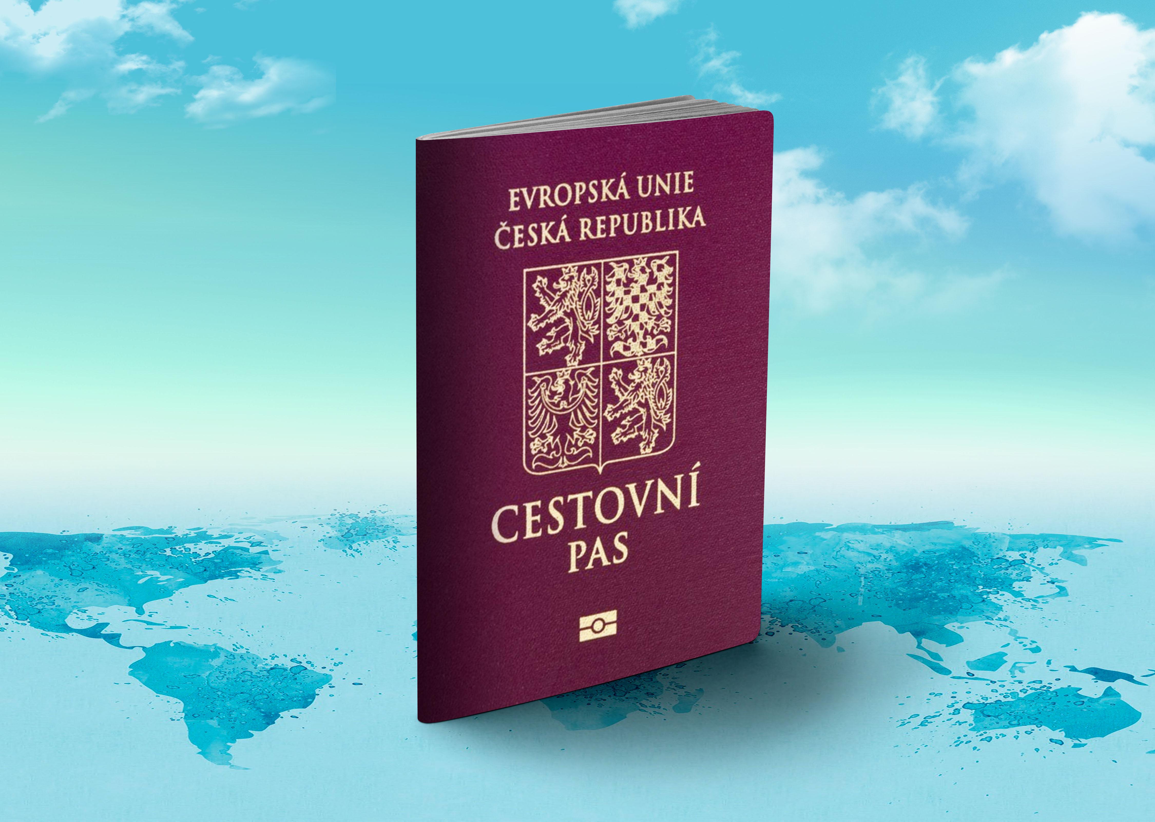 Паспорт Чехии, гражданство которой могут получить россияне, украинцы и белорусы