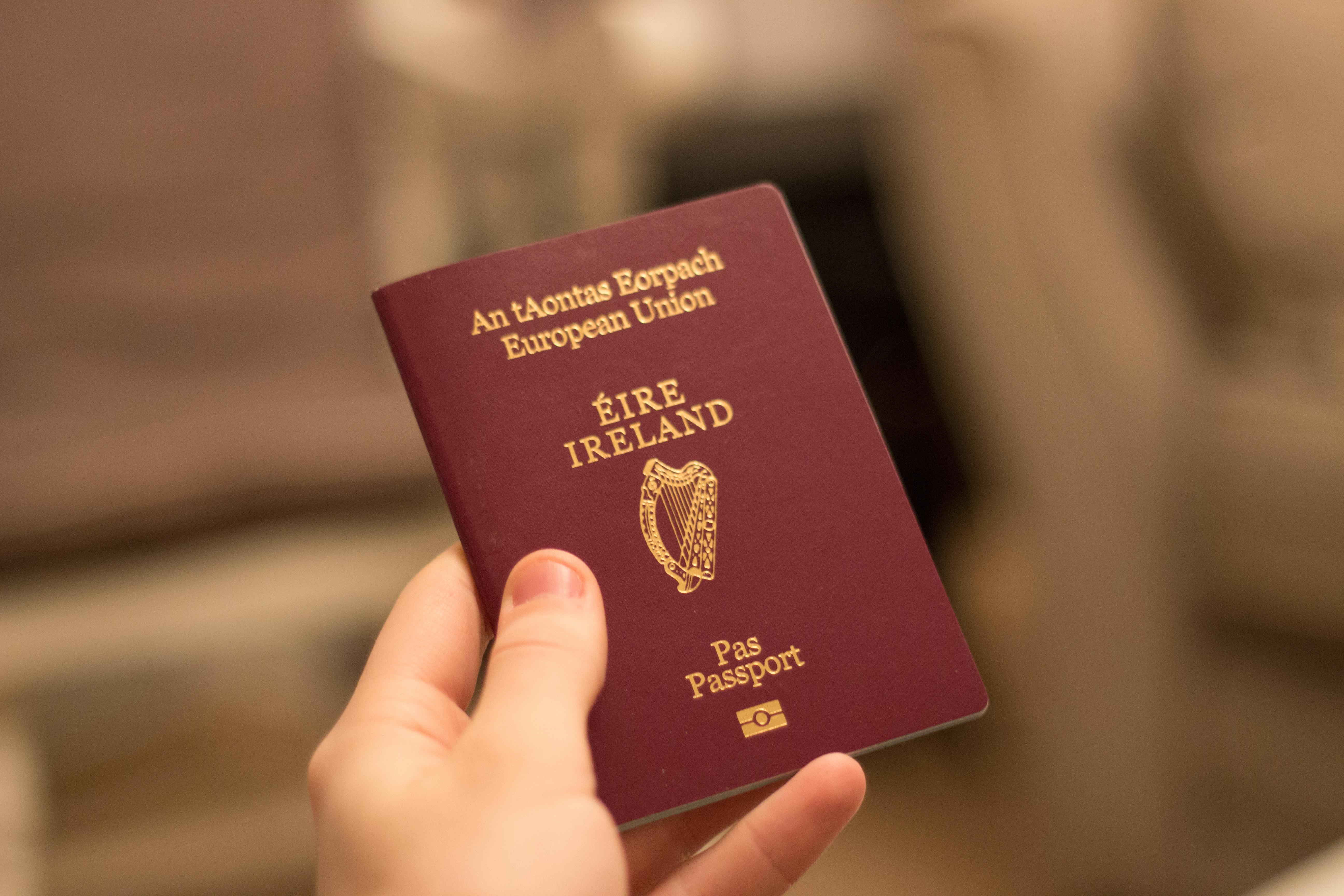 Ирландский паспорт, который могут получить россияне, украинцы и белорусы