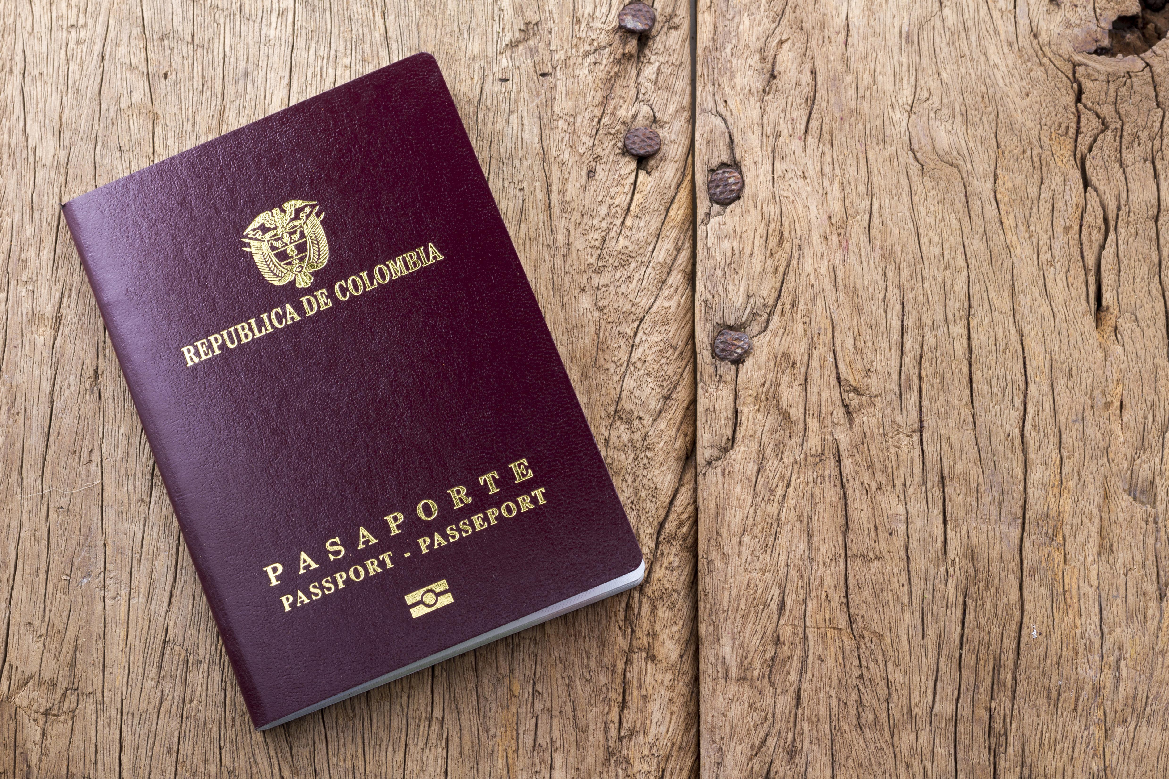 Колумбийский паспорт, который могут оформить иностранцы