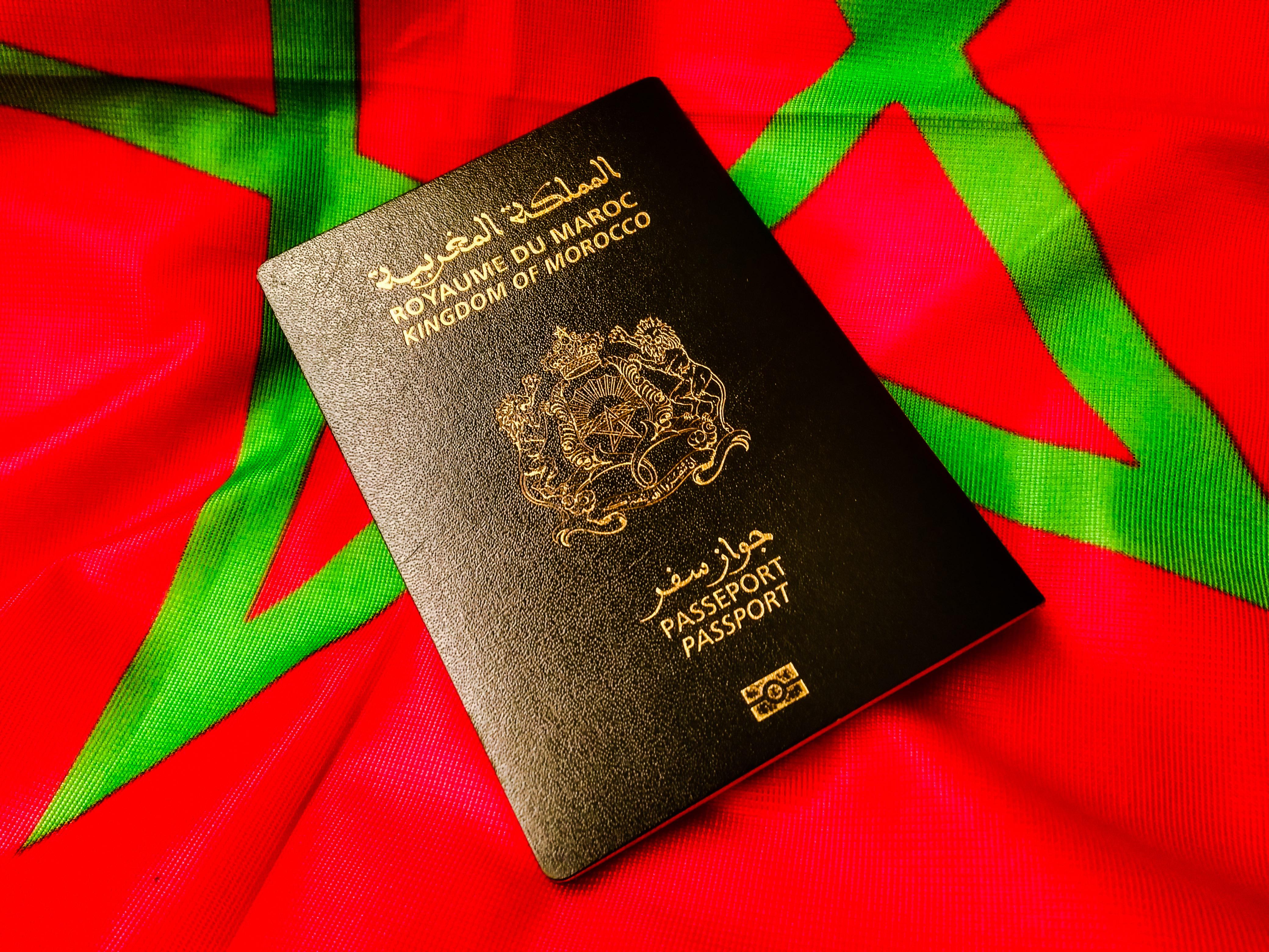 Марокканский паспорт, который могут оформить иностранцы