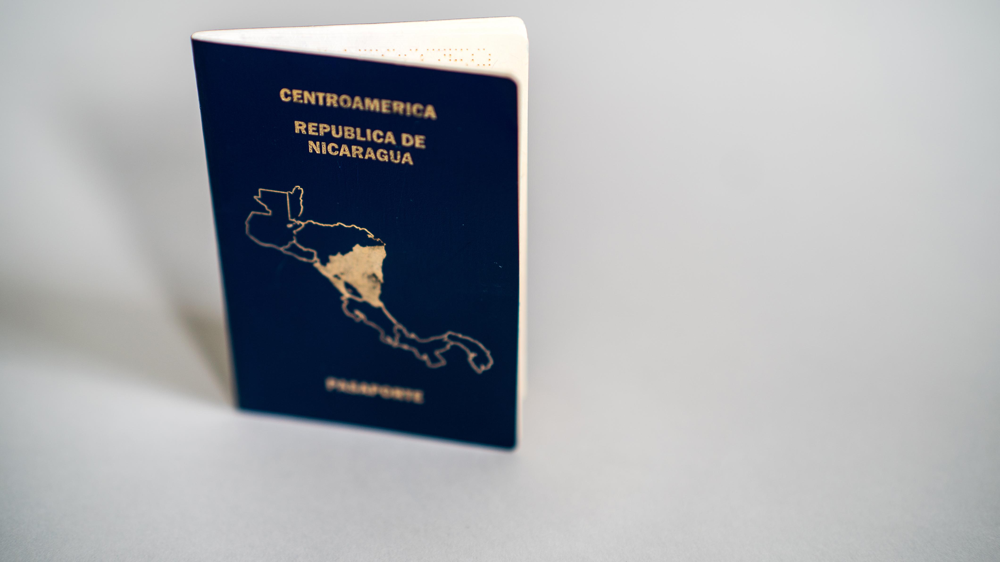 Паспорт Никарагуа, который могут оформить иностранцы