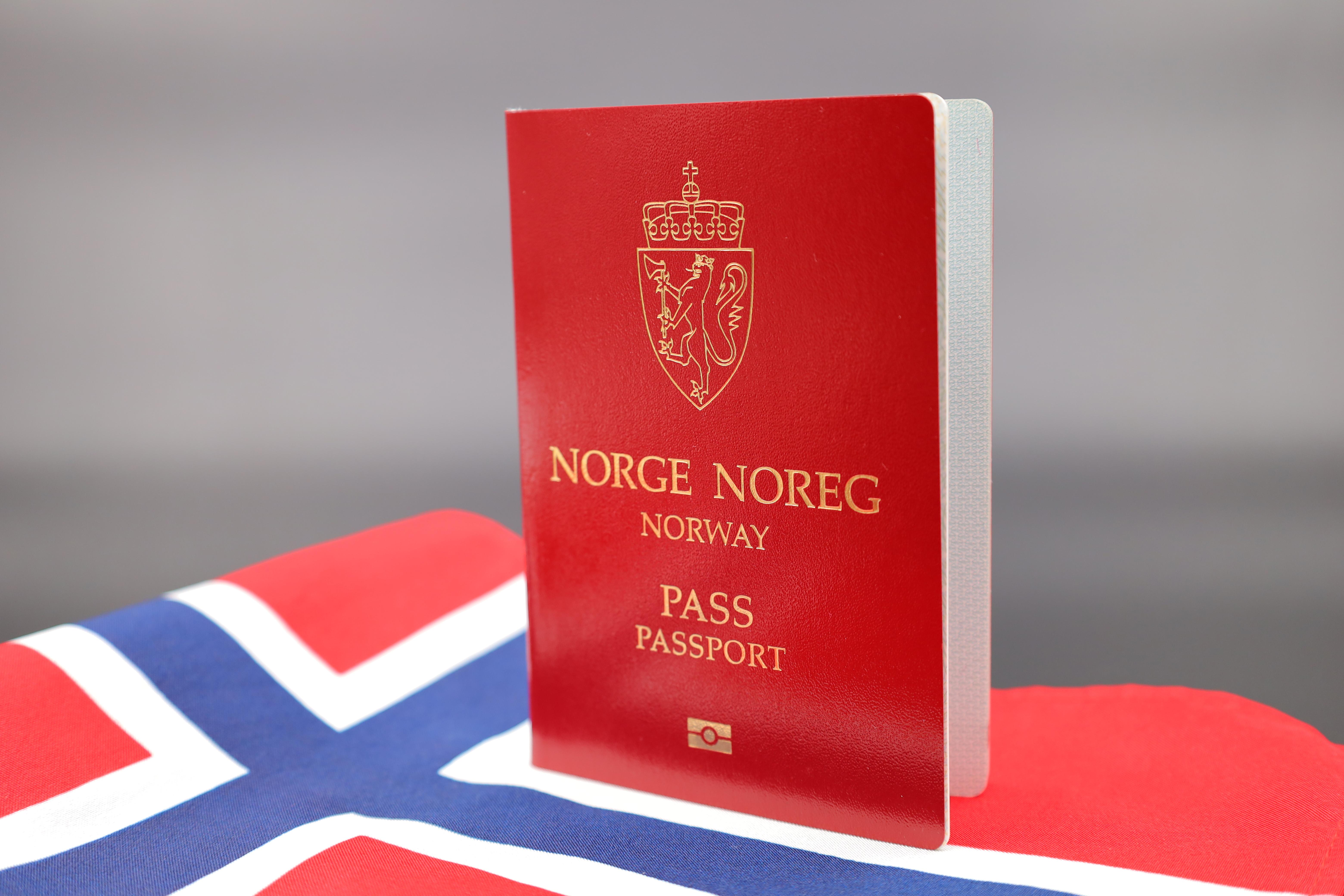 Паспорт Норвегии, гражданство которой можно получить