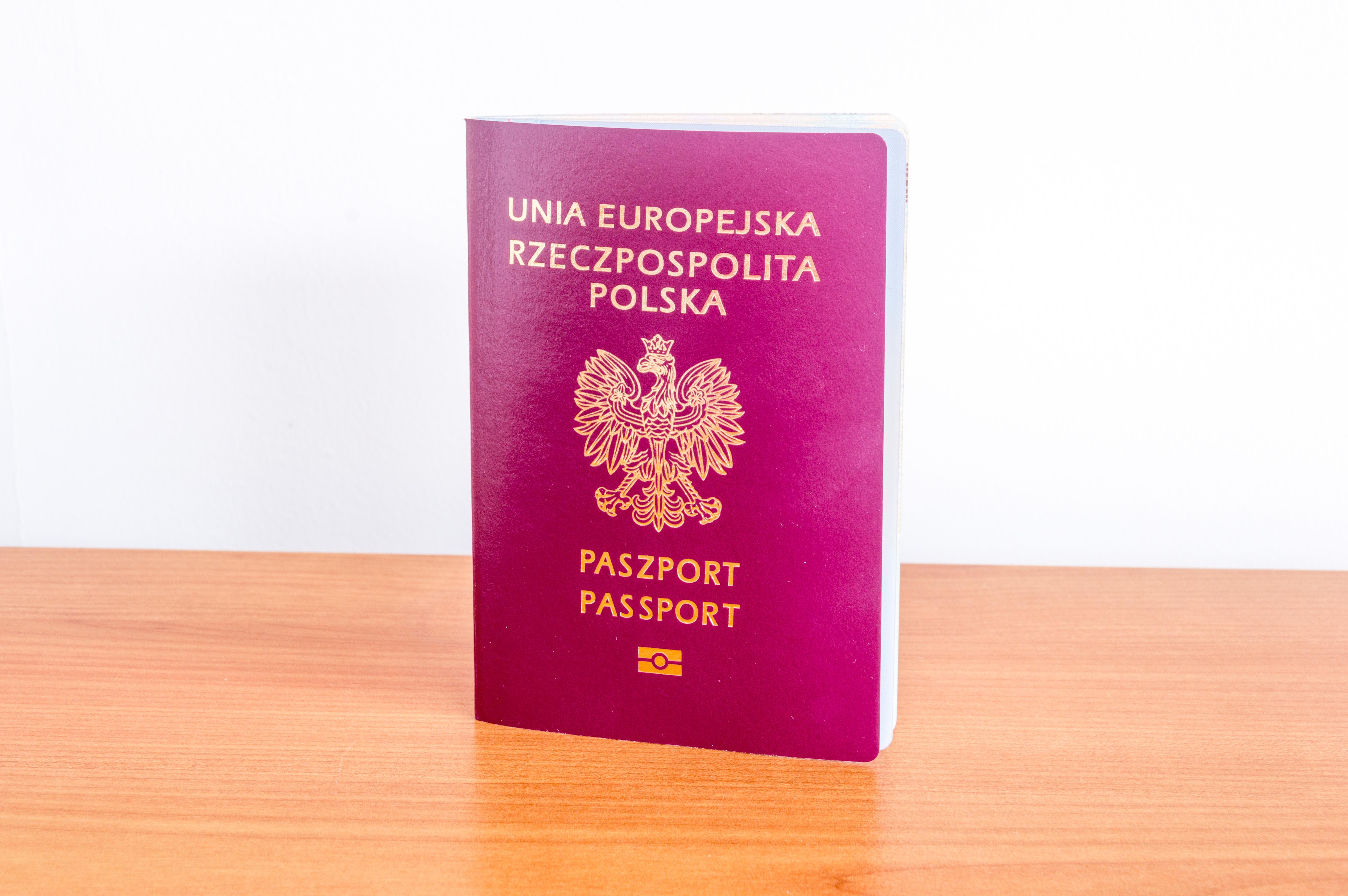 Польский паспорт, который могут получить россияне