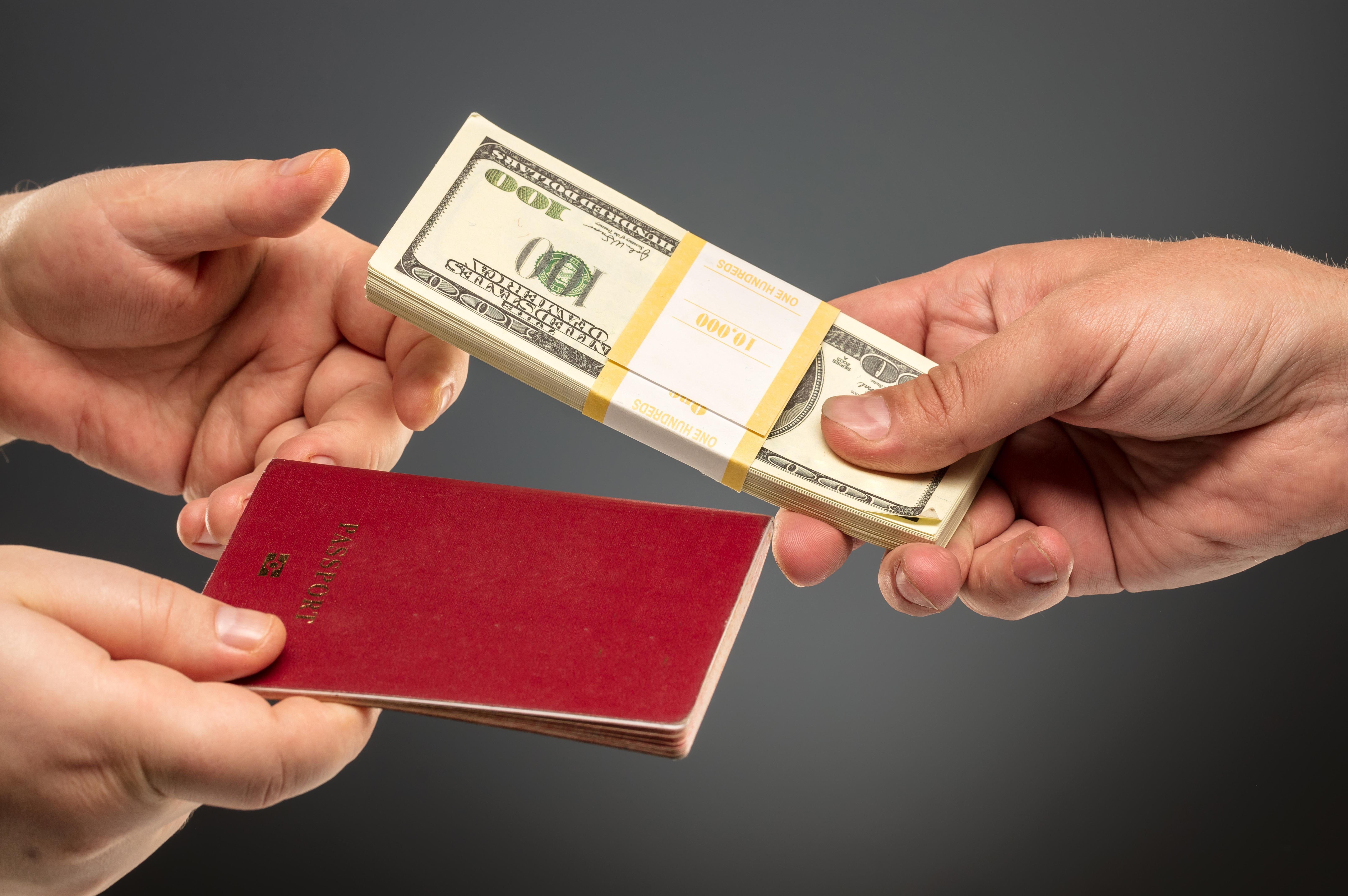 Деньги и паспорт, который можно купить за инвестиции