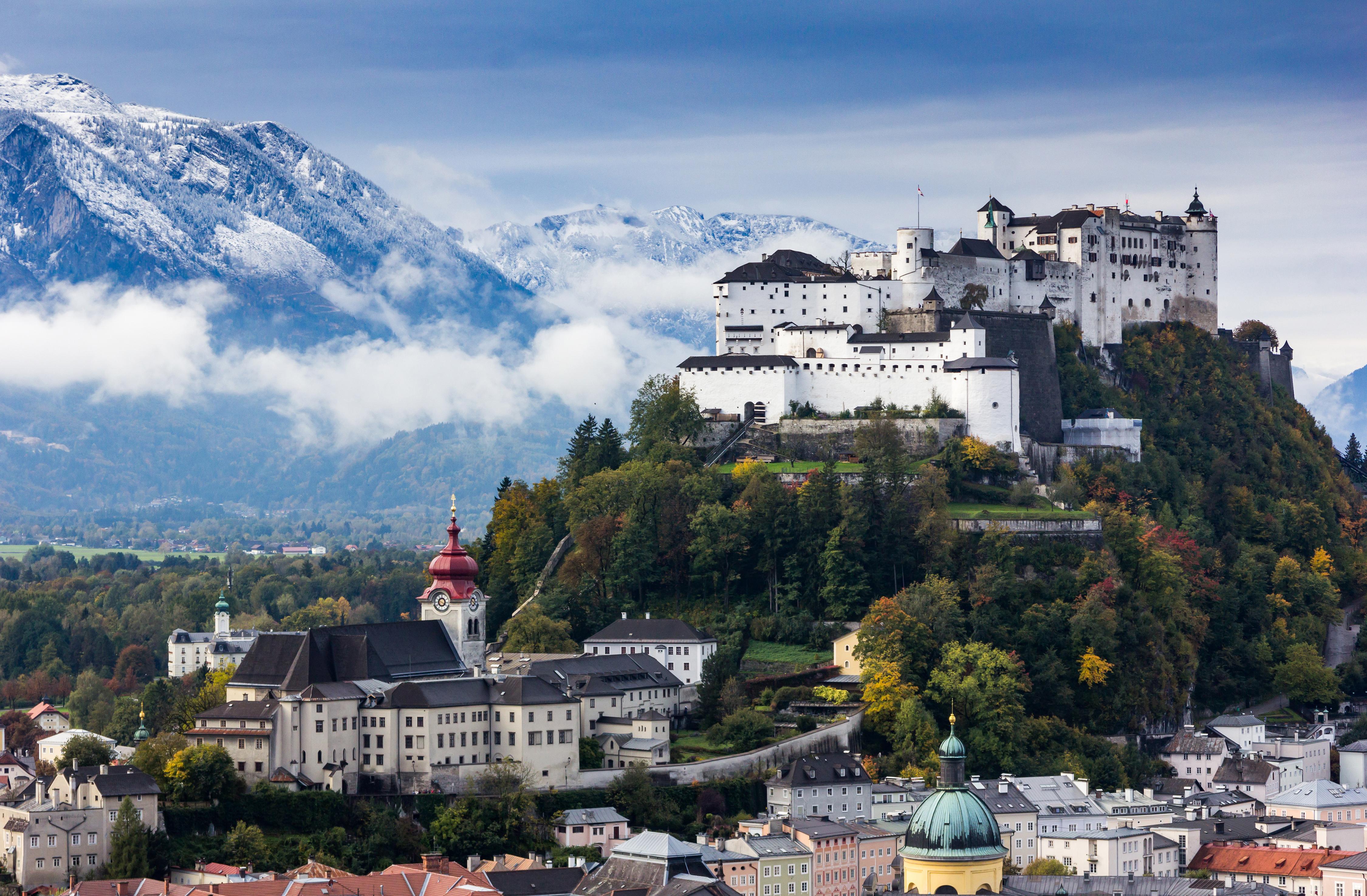 Город Зальцбург в Австрии, куда можно переехать из стран СНГ