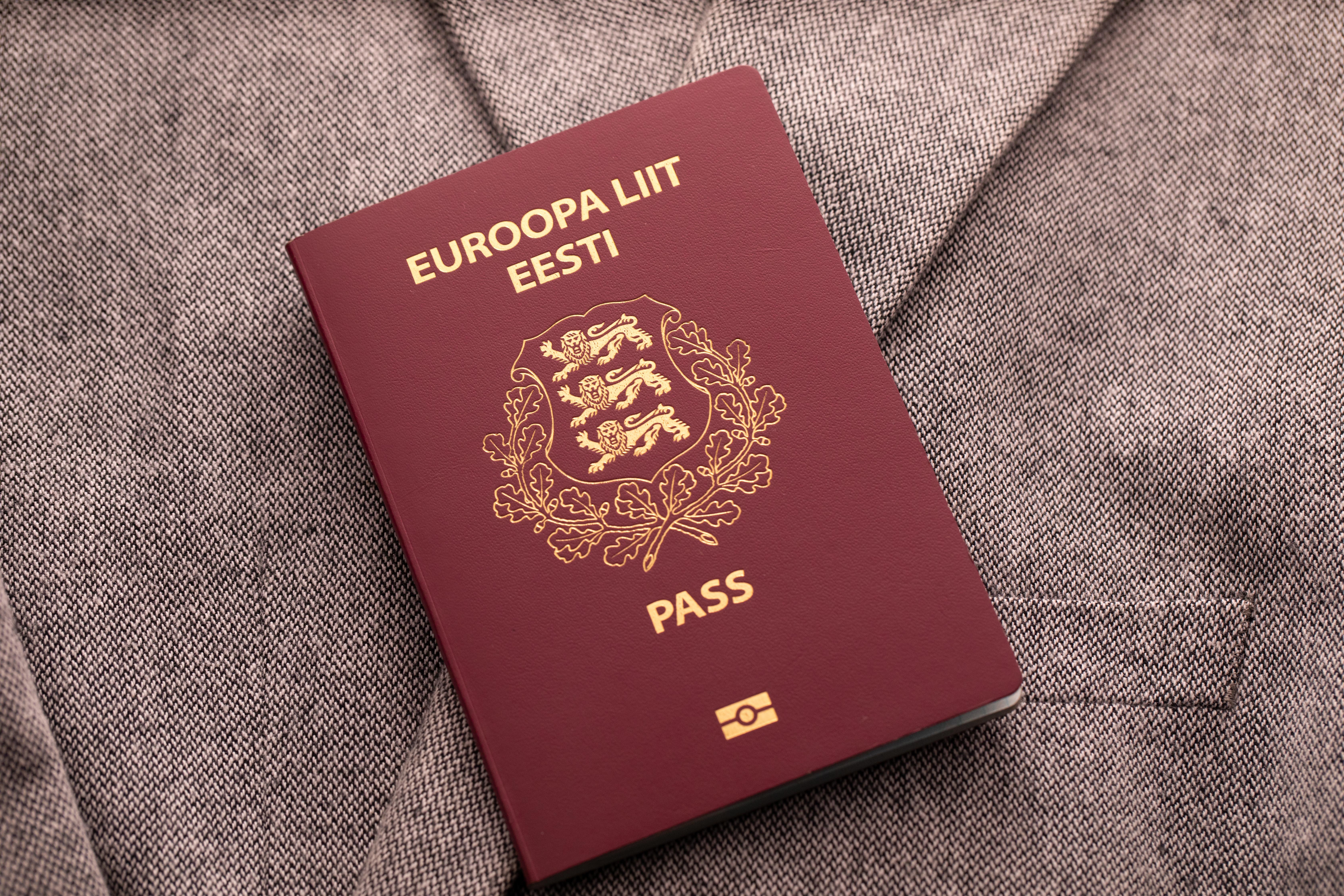 Паспорт Эстонии, который могут получить россияне, украинцы и белорусы