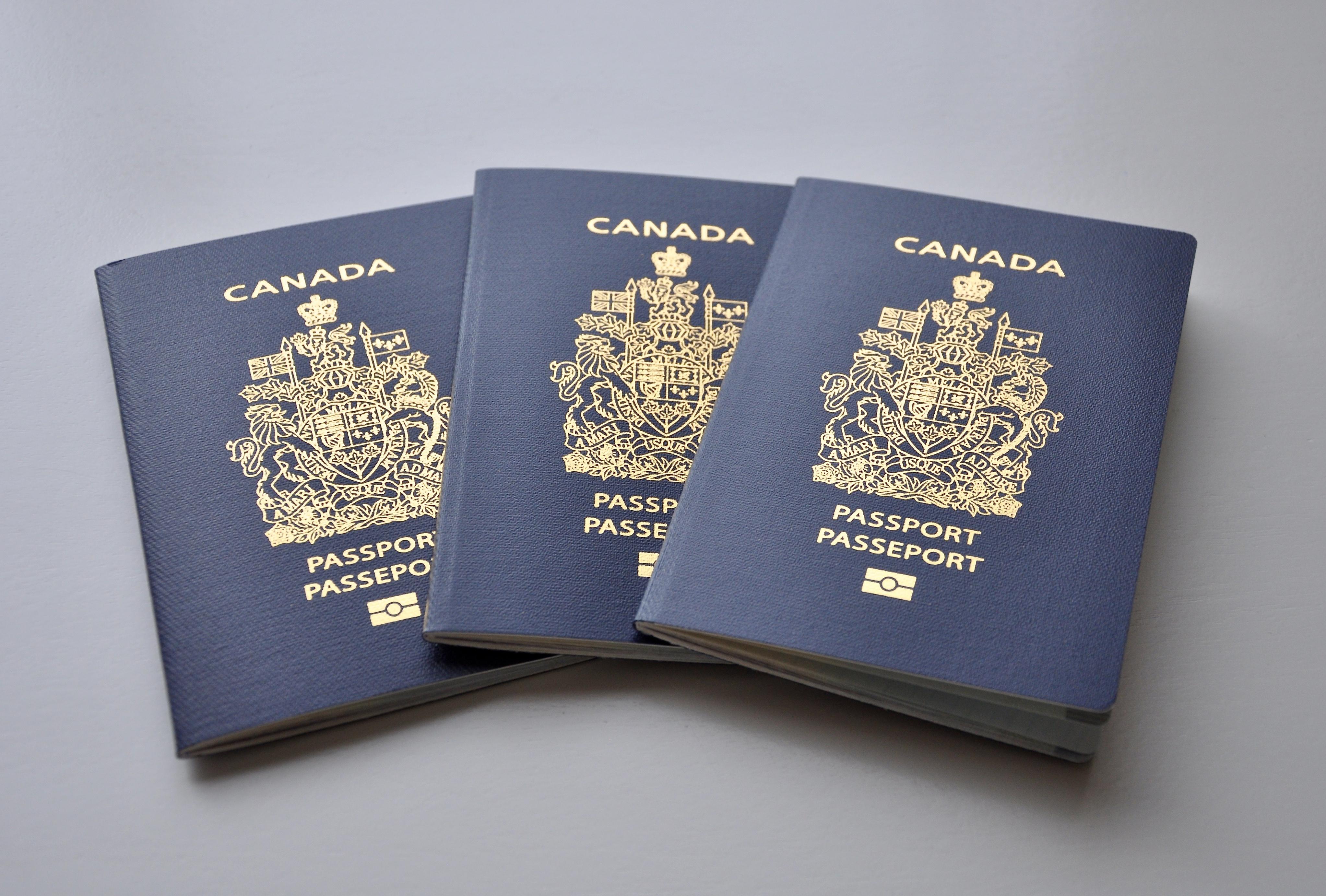 Канадские паспорта, которые могут получить россияне