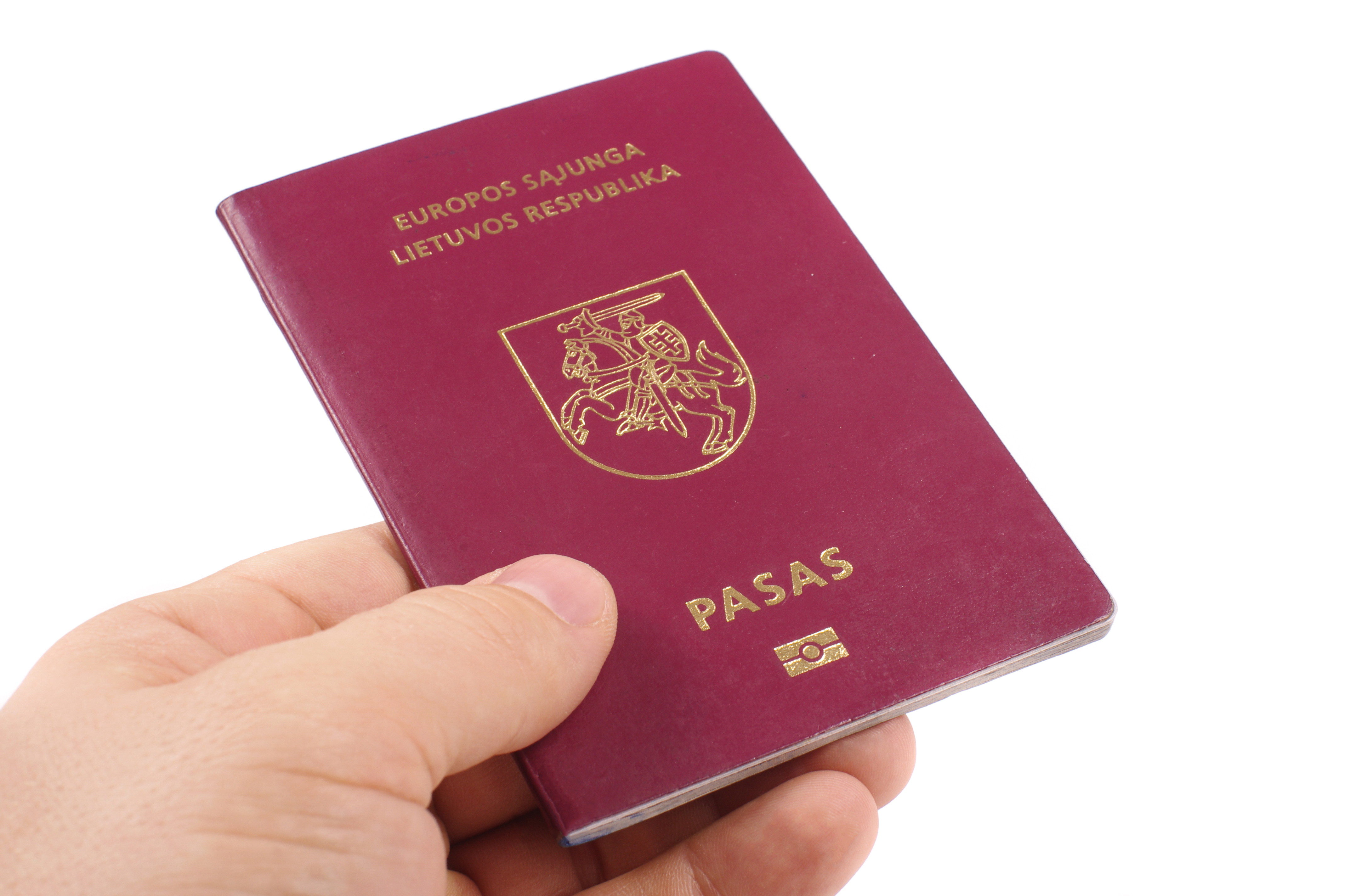 Литовский паспорт, который могут получить россияне