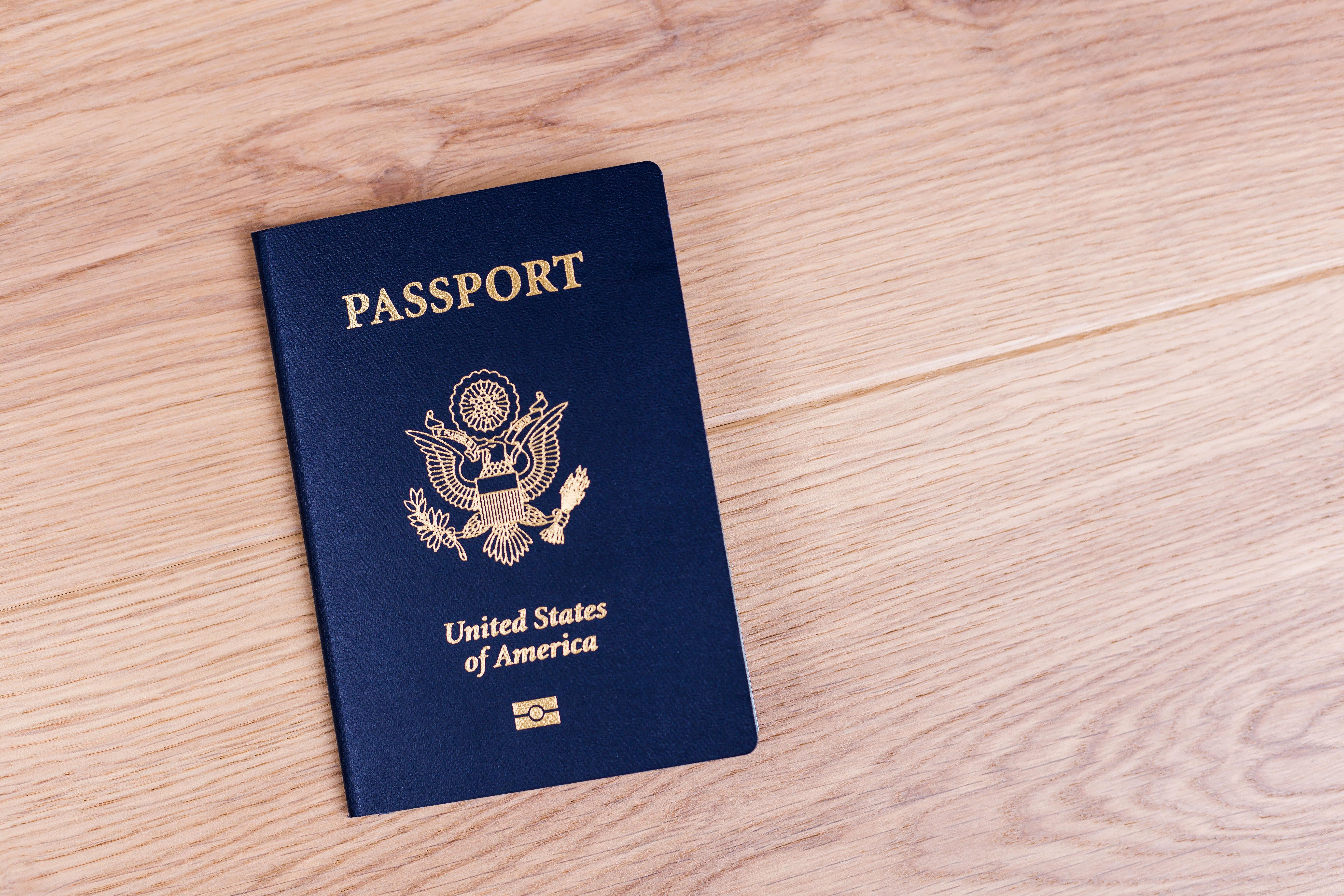 Американский паспорт, который могут получить иностранцы