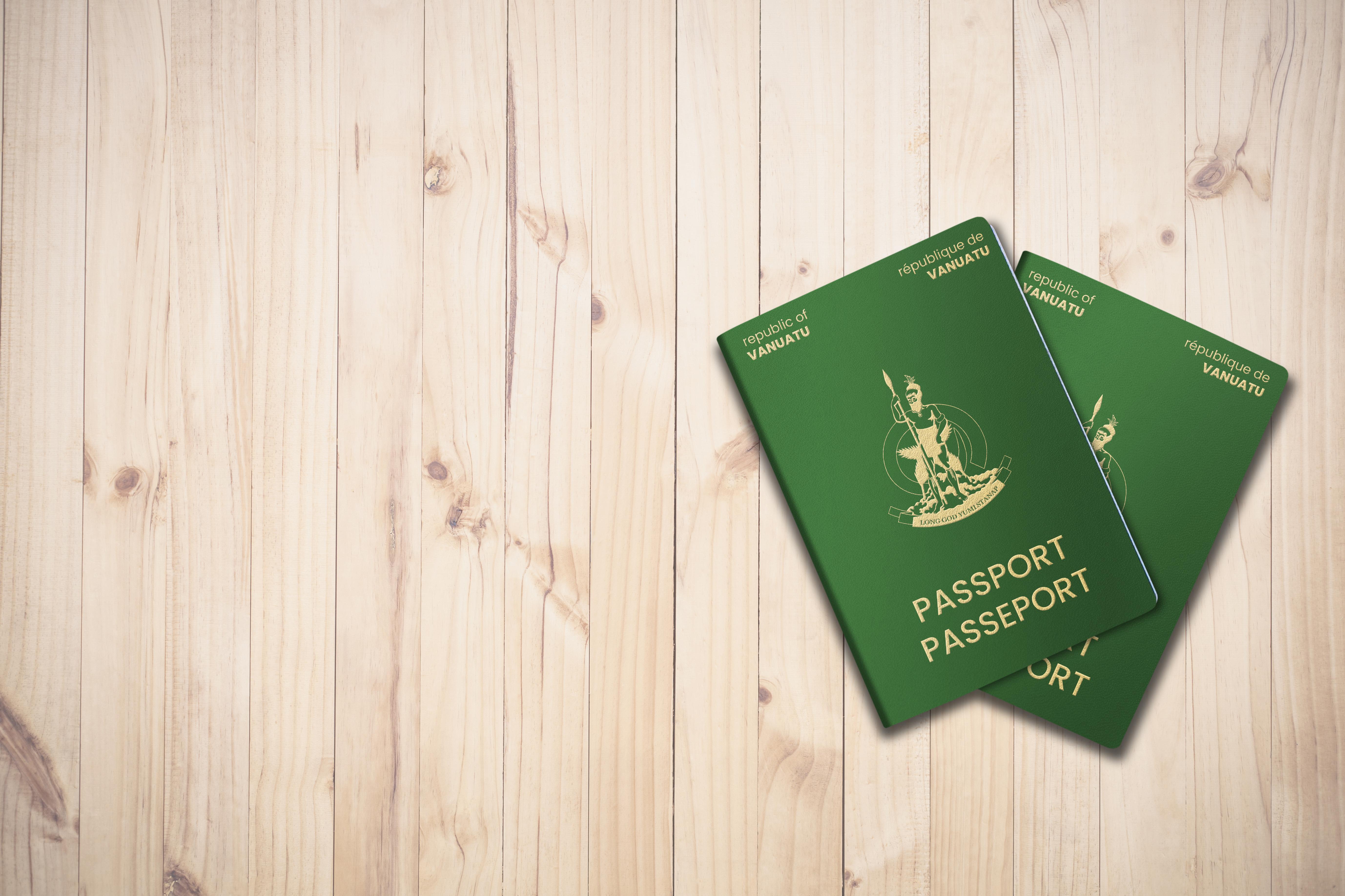 Паспорта Вануату, который могут получить россияне, украинцы и белорусы