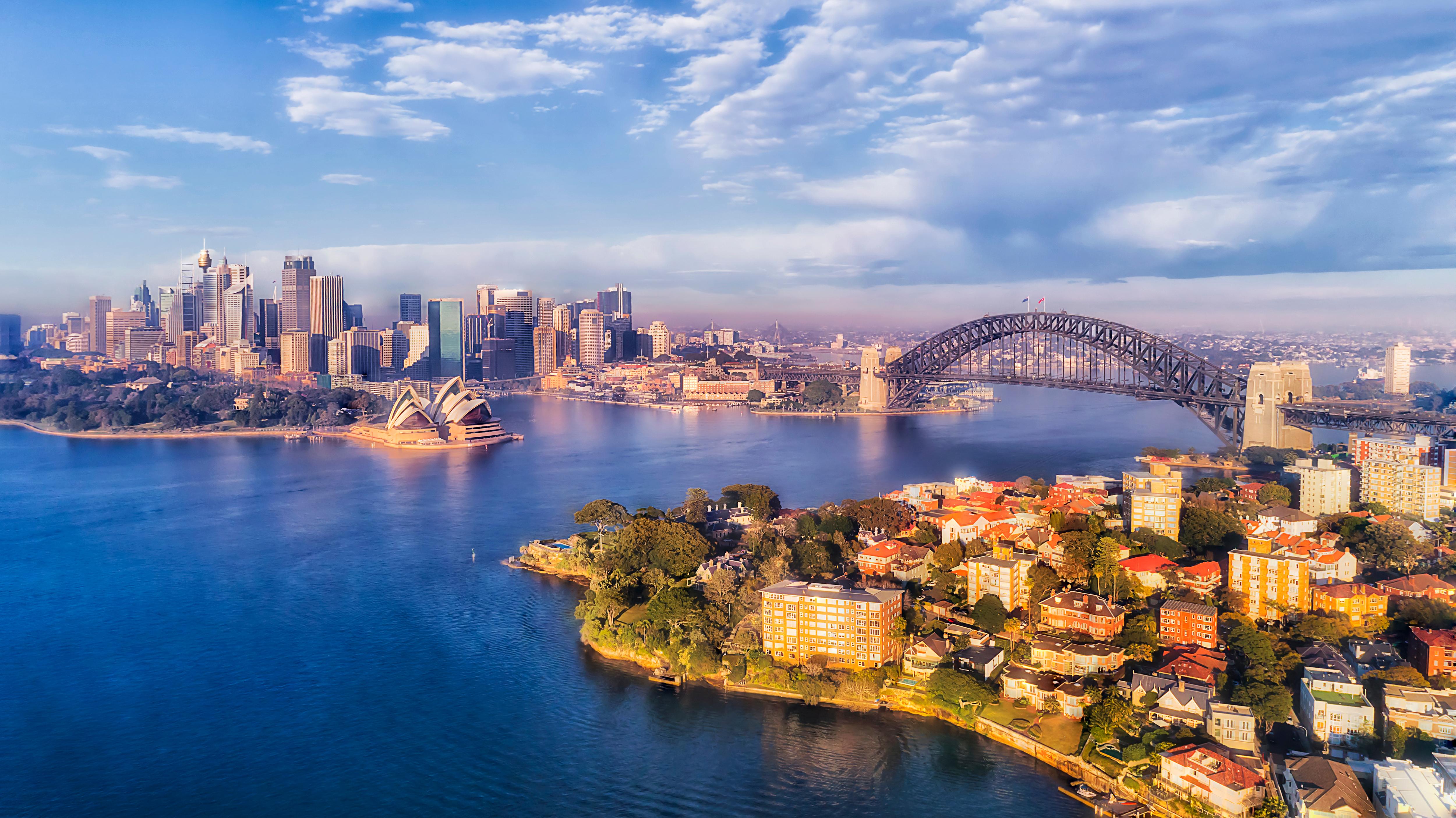 Сидней в Австралии, ПМЖ которой могут получить иностранцы