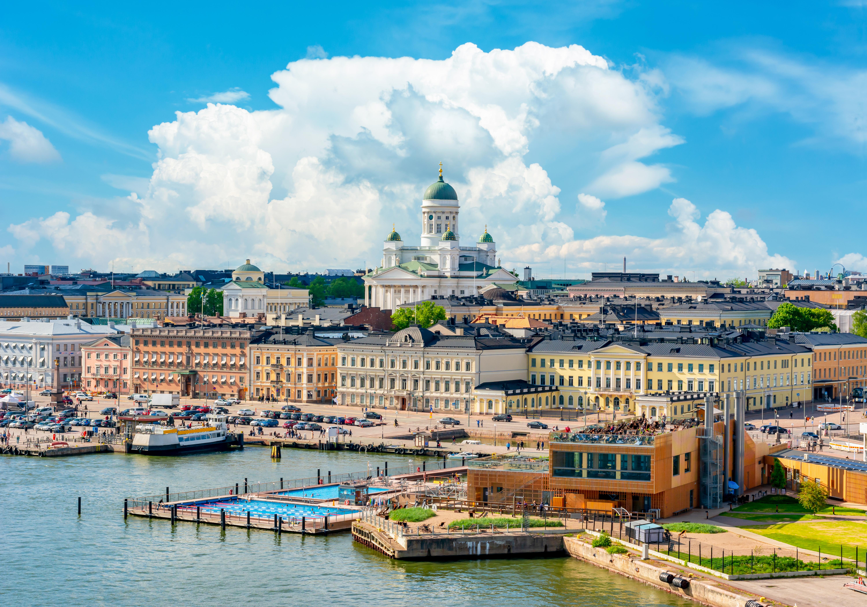 Хельсинки, столица Финляндии, ПМЖ которой могут получить иностранцы