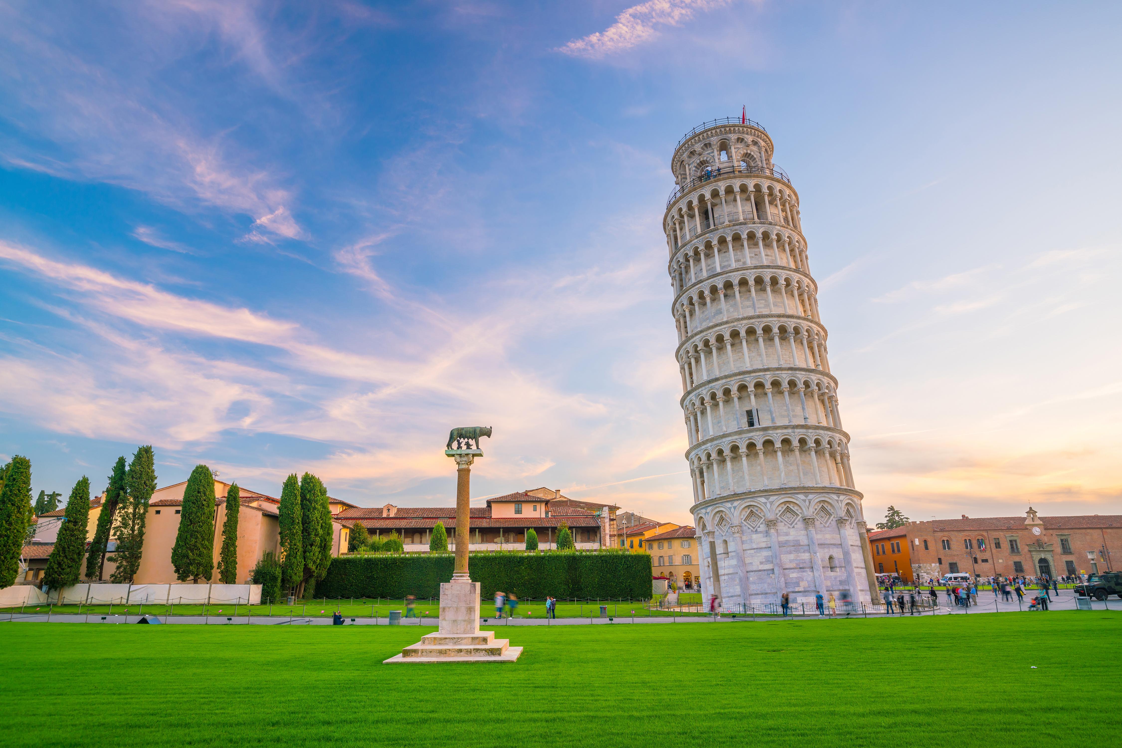 Пизанская башня в Италии, ПМЖ которой могут получить иностранцы