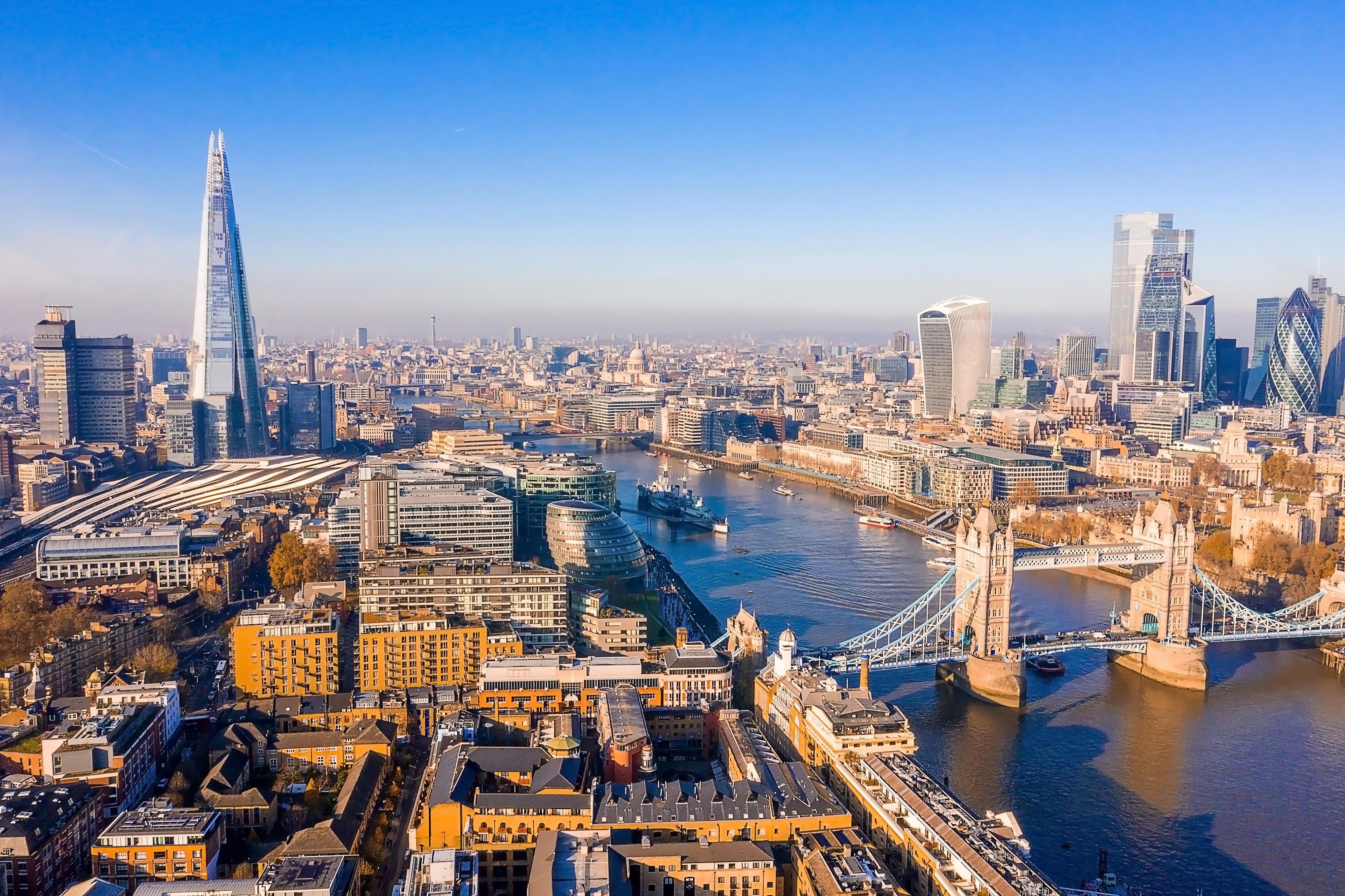 Лондон, столица Великобритании, ПМЖ которой могут получить иностранцы