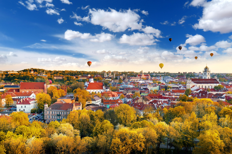 Вильнюс, столица Литвы, ВНЖ которой могут получить россияне, украинцы и белорусы