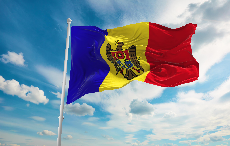 Флаг Молдовы, где иностранцы могут получить ВНЖ