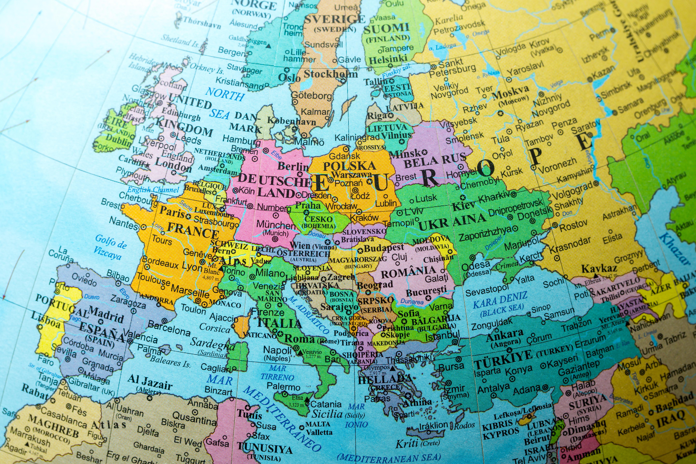 Карта стран, где россияне могут получить ПМЖ в Европе