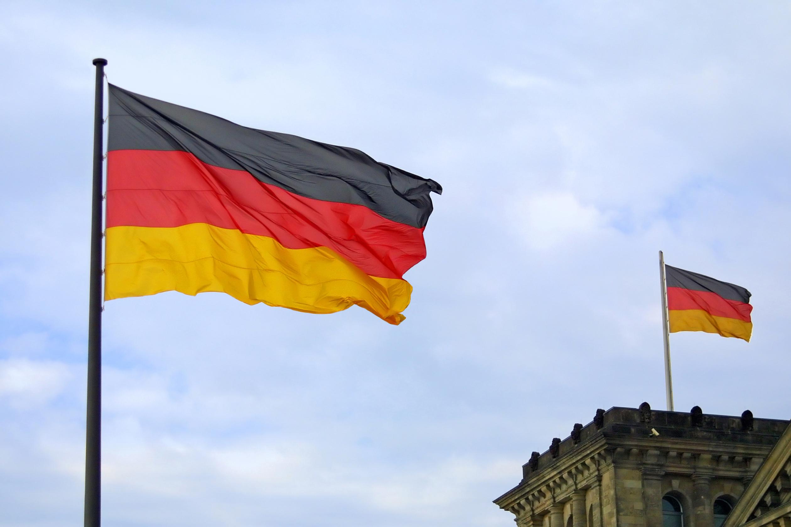 Флаг Германии, ПМЖ которой могут получить иностранцы