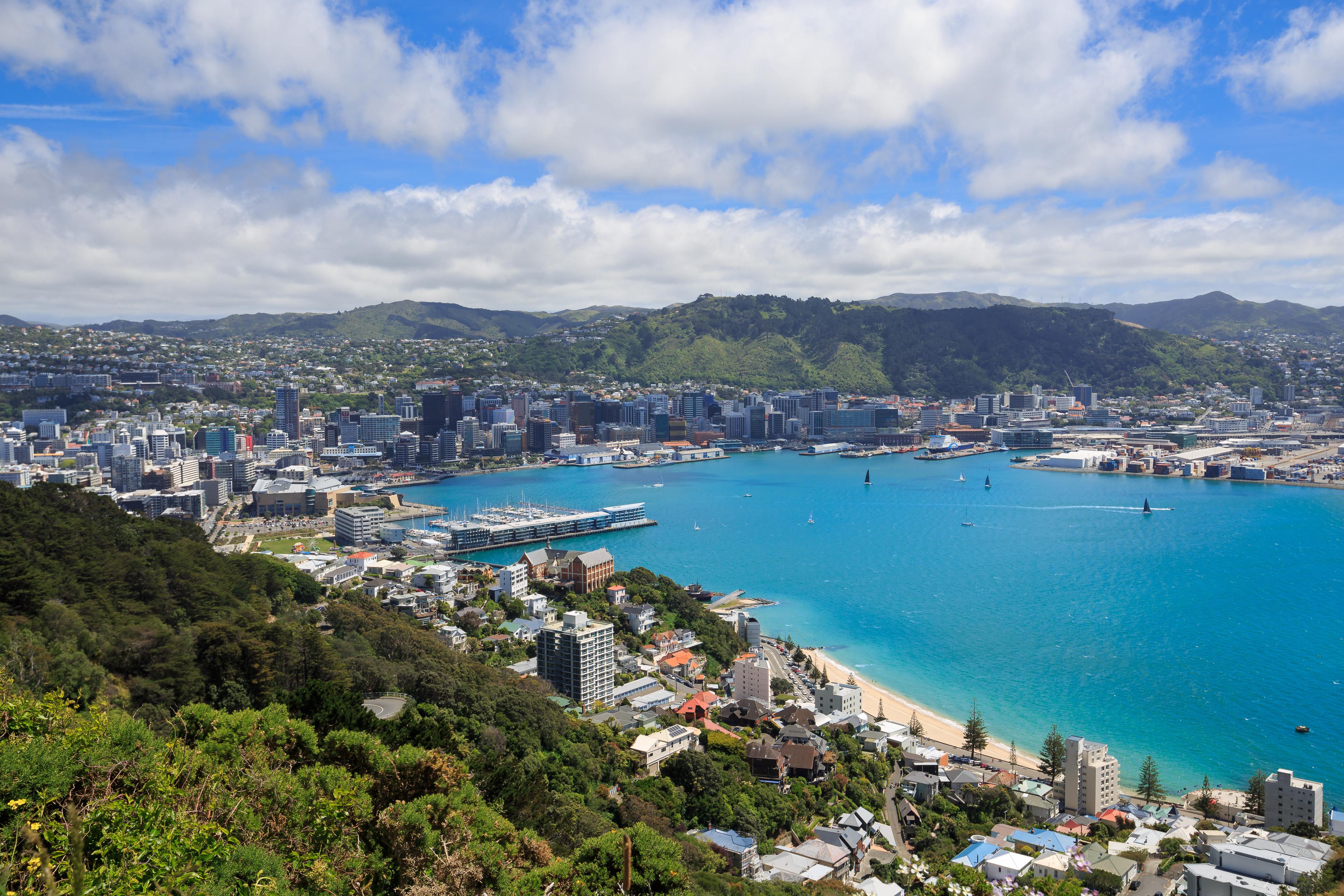 Веллингтон, столица Новой Зеландии, куда можно переехать на ПМЖ из стран СНГ