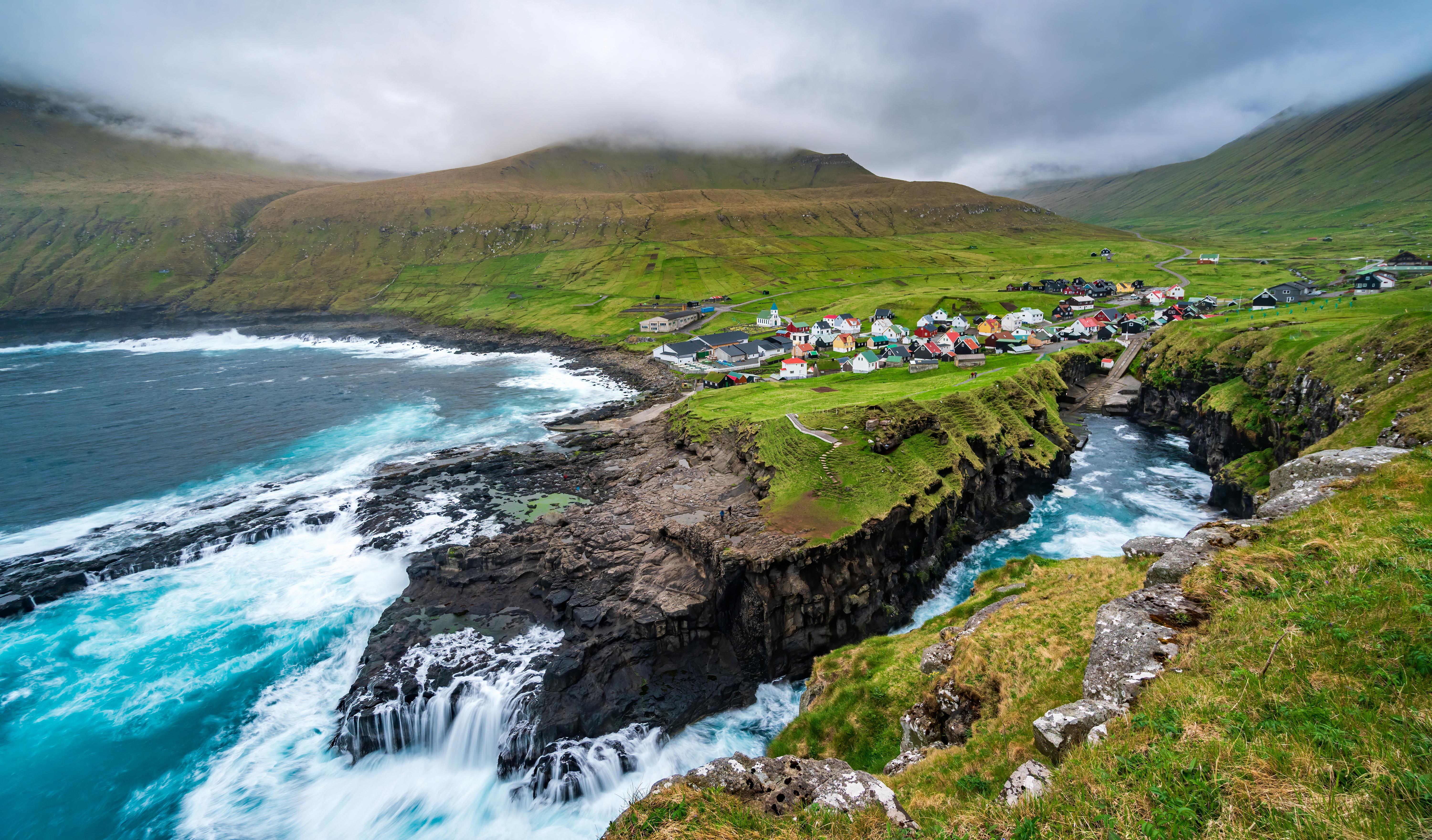 Деревня для переезда на ПМЖ наФарерские острова