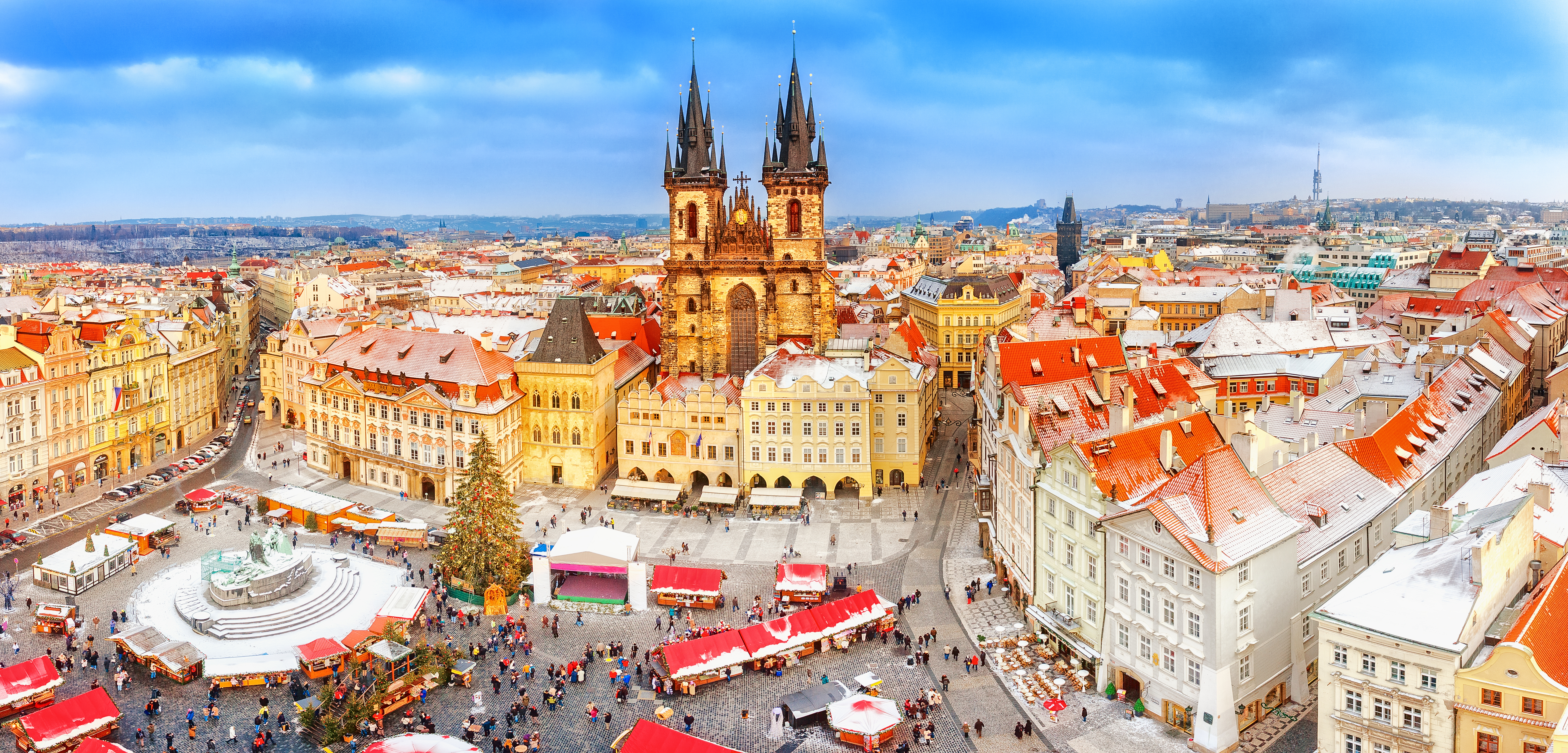 Прага, столица Чехии, одной из лучших стран для иммиграции из СНГ