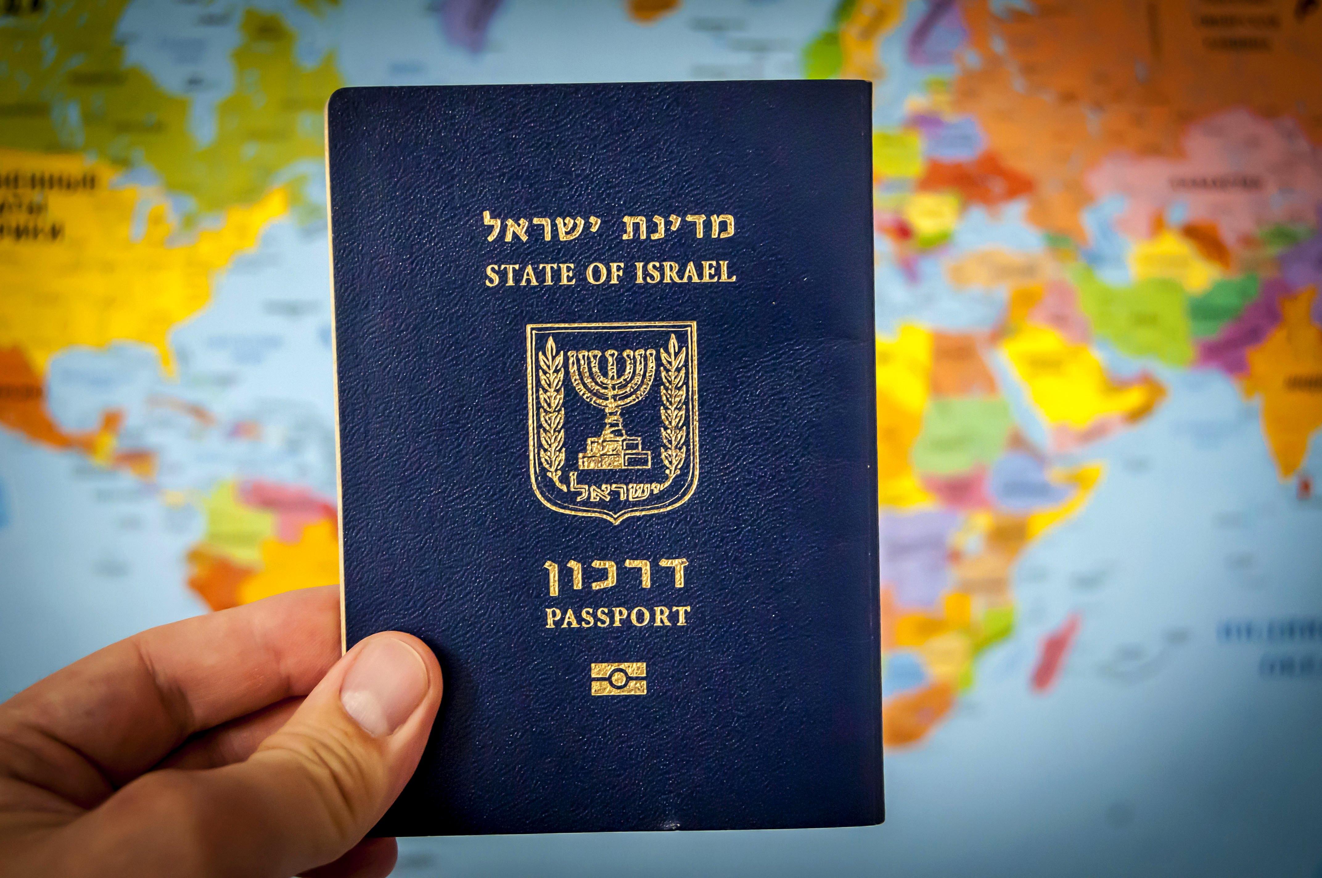 Паспорт Израиля, гражданство которого могут получить россияне