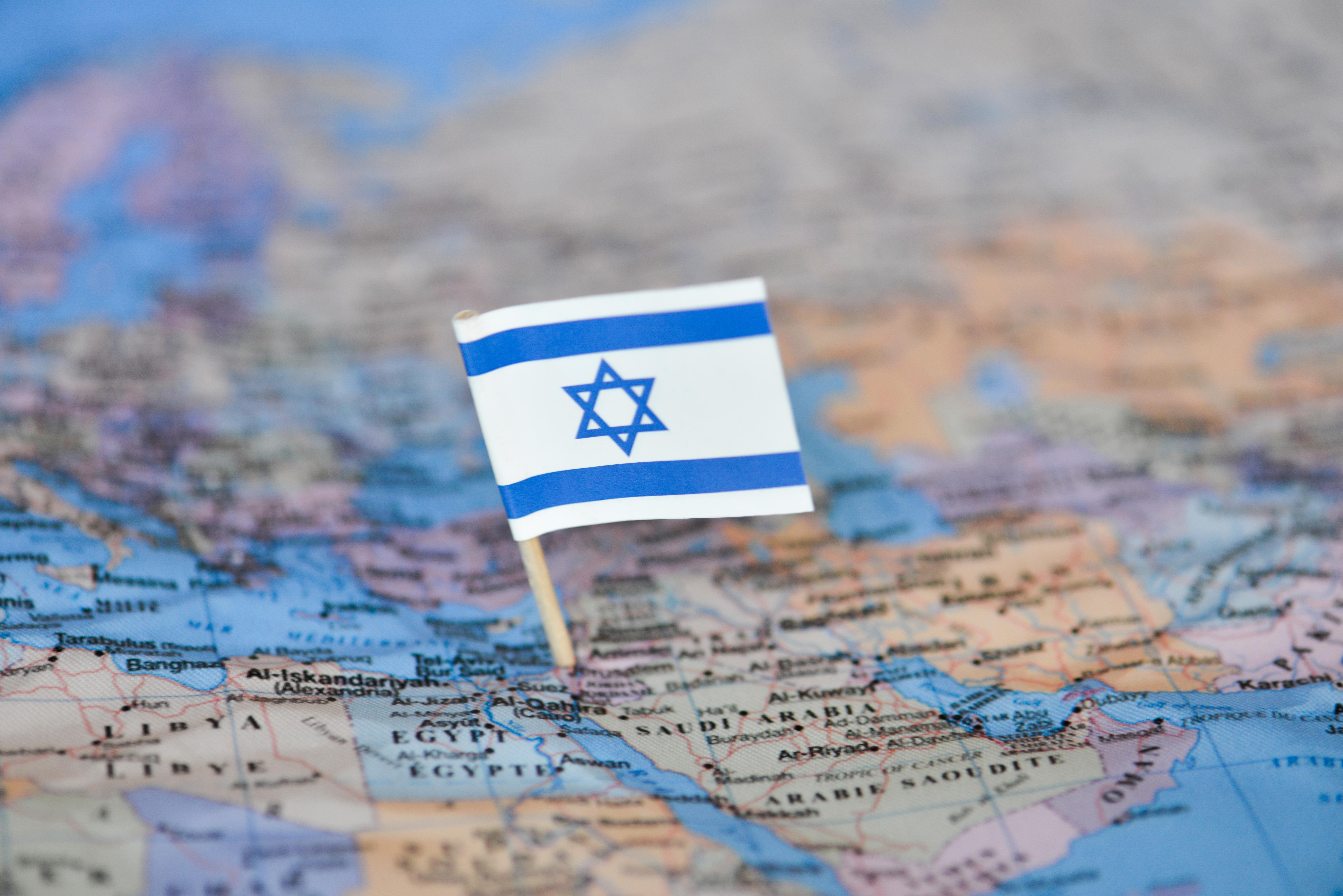Флаг Израиля, ВНЖ которого могут получить россияне
